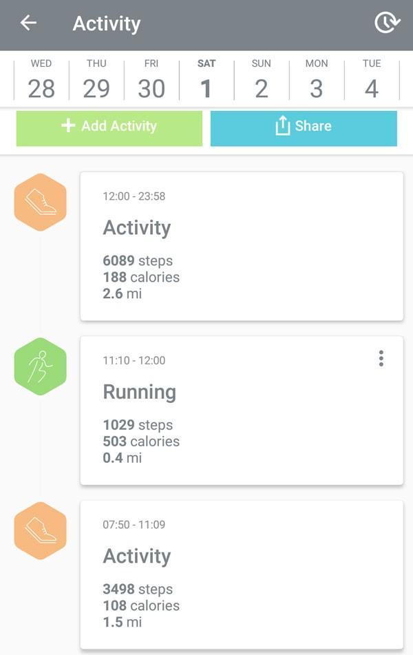 Bellabeat Leaf app activity tracker