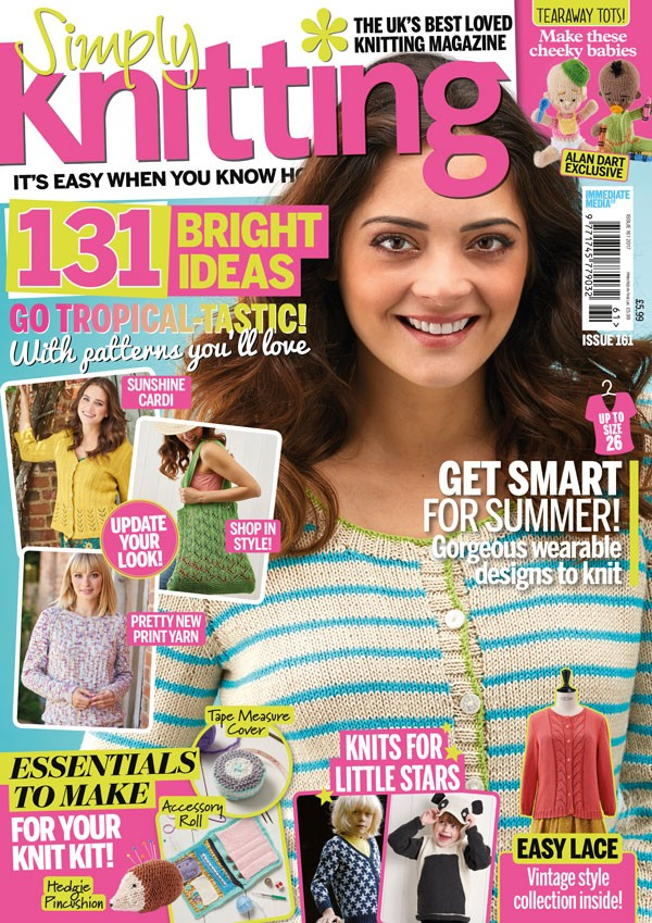 Simply Knitting issue 161