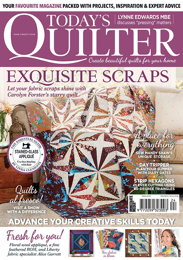 Today's Quilter magazine cover