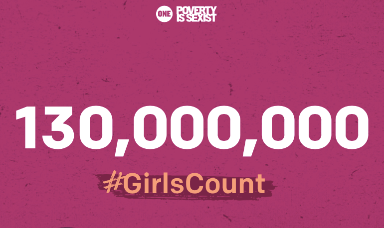 #GirlsCount campaign