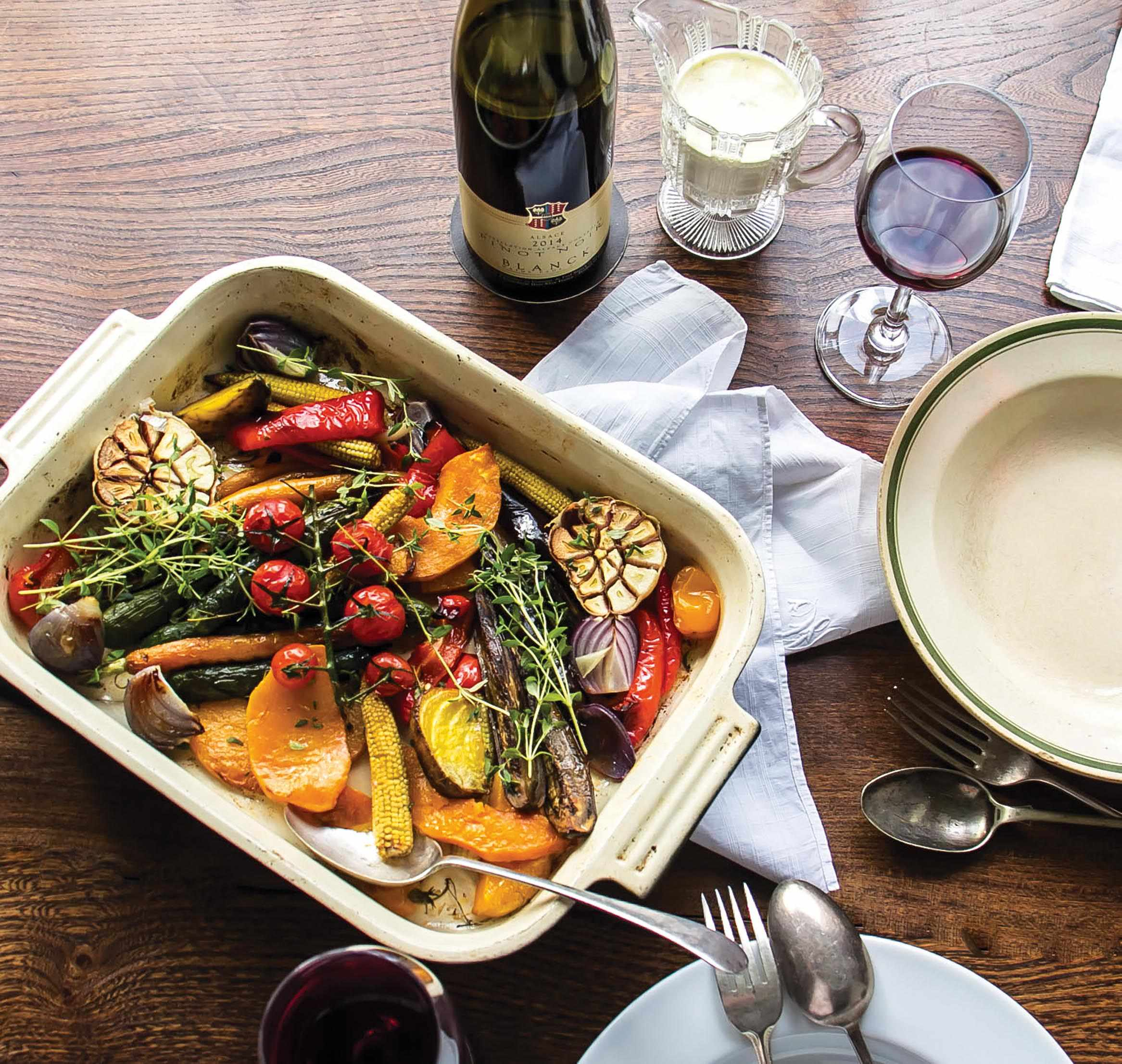 Mixed roasted vegetables recipe by Rosana McPhee