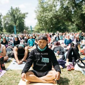 Wanderlust festival meditation session