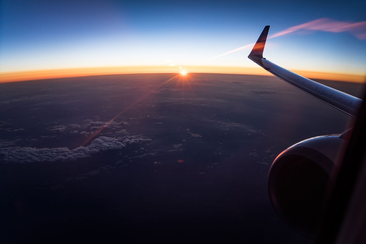 Overcome fear flying