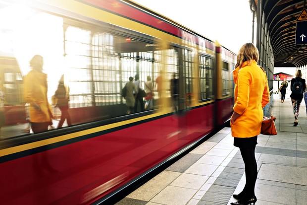 Calm train travel