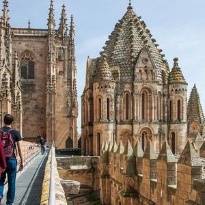 Salamanca Cathedral roof 2
