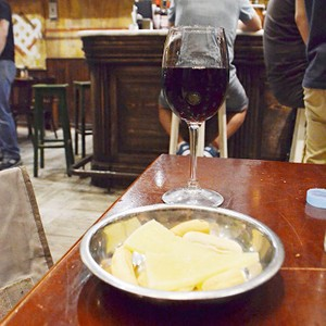 Tapas and wine in Madrid