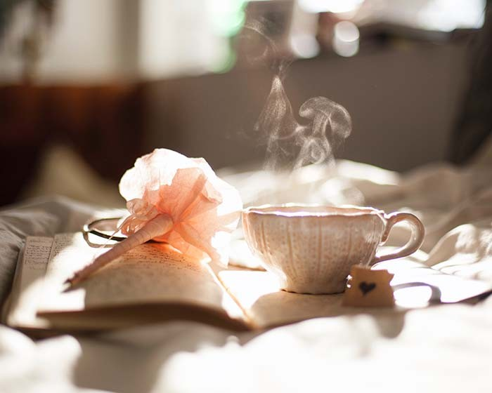 Diary and a cup of tea