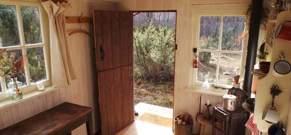 Inshriach shepherd's hut