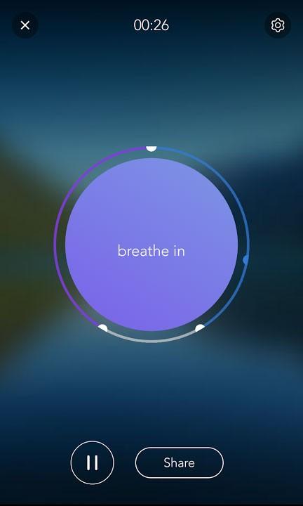Calm app for panic attacks