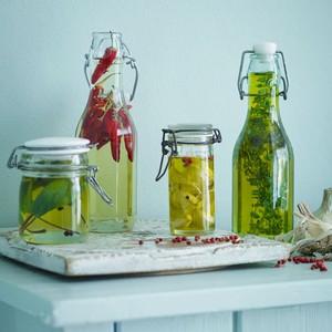 Herbal oils infused oils