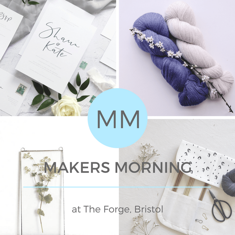 Makers Morning with Project Calm magazine