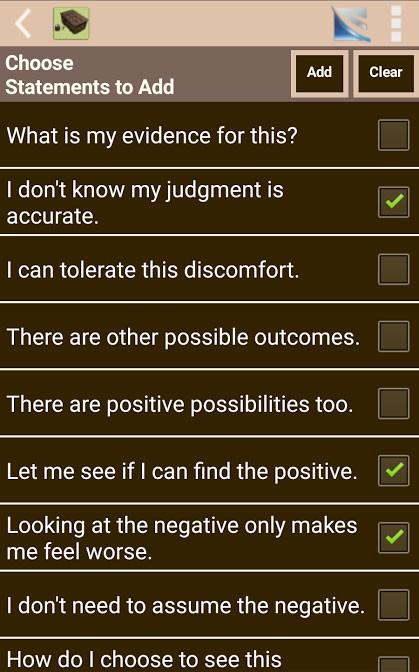 The Worry Box app