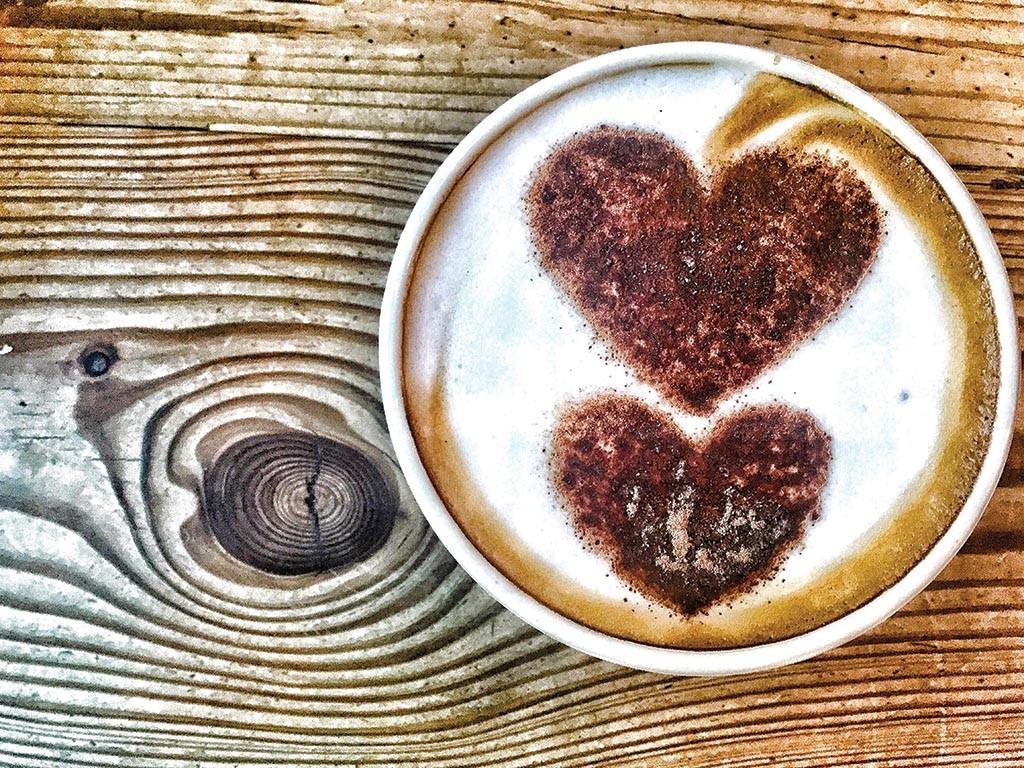 Free coffee art stencils