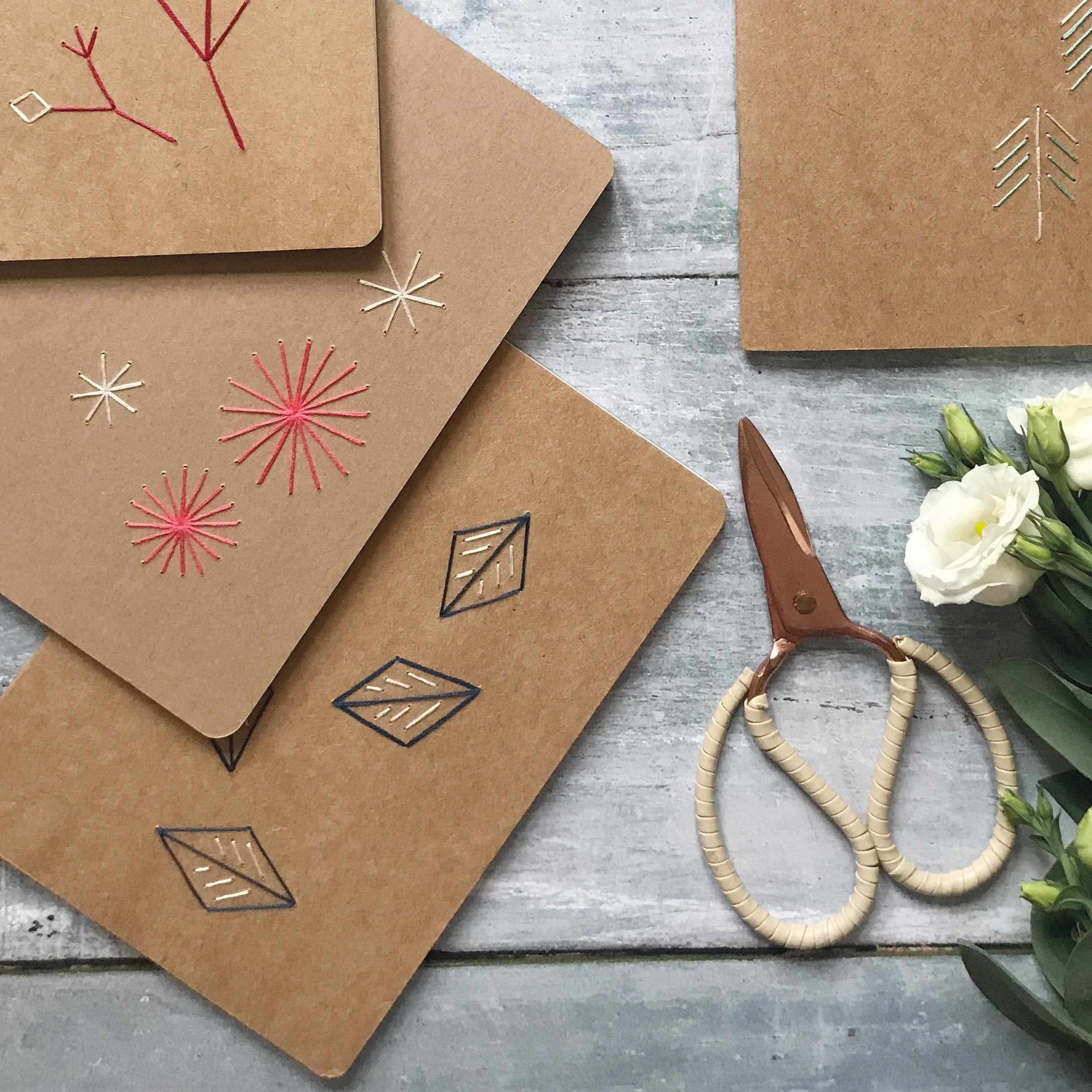 Free stitched notebooks project from In The Moment Magazine