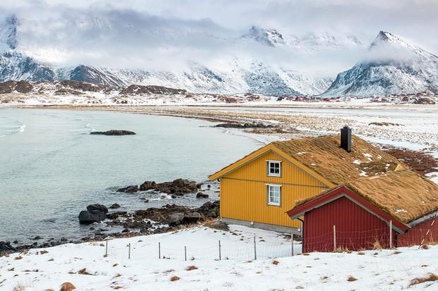 Norwegian cabin in Lofoten