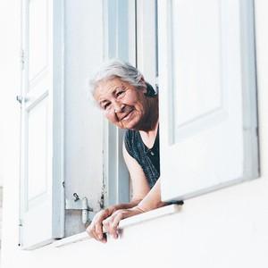 Old Greek woman