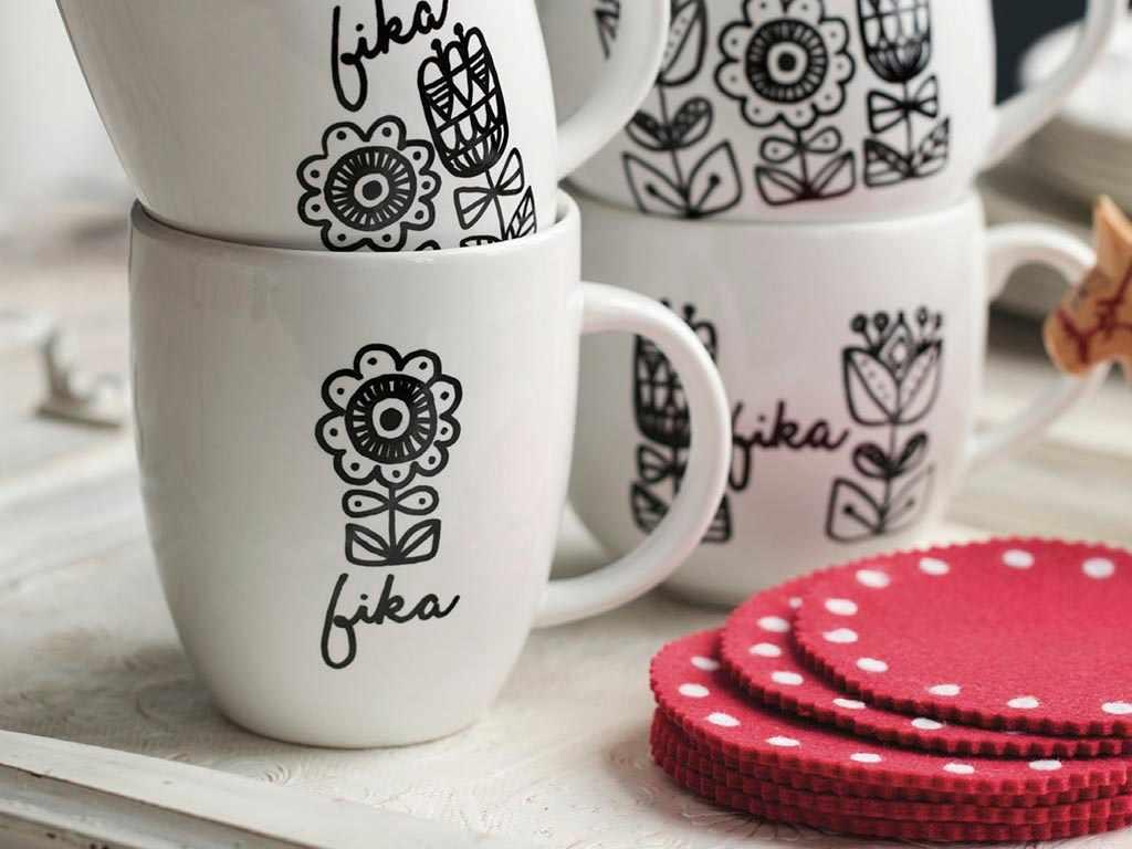 Fika mugs