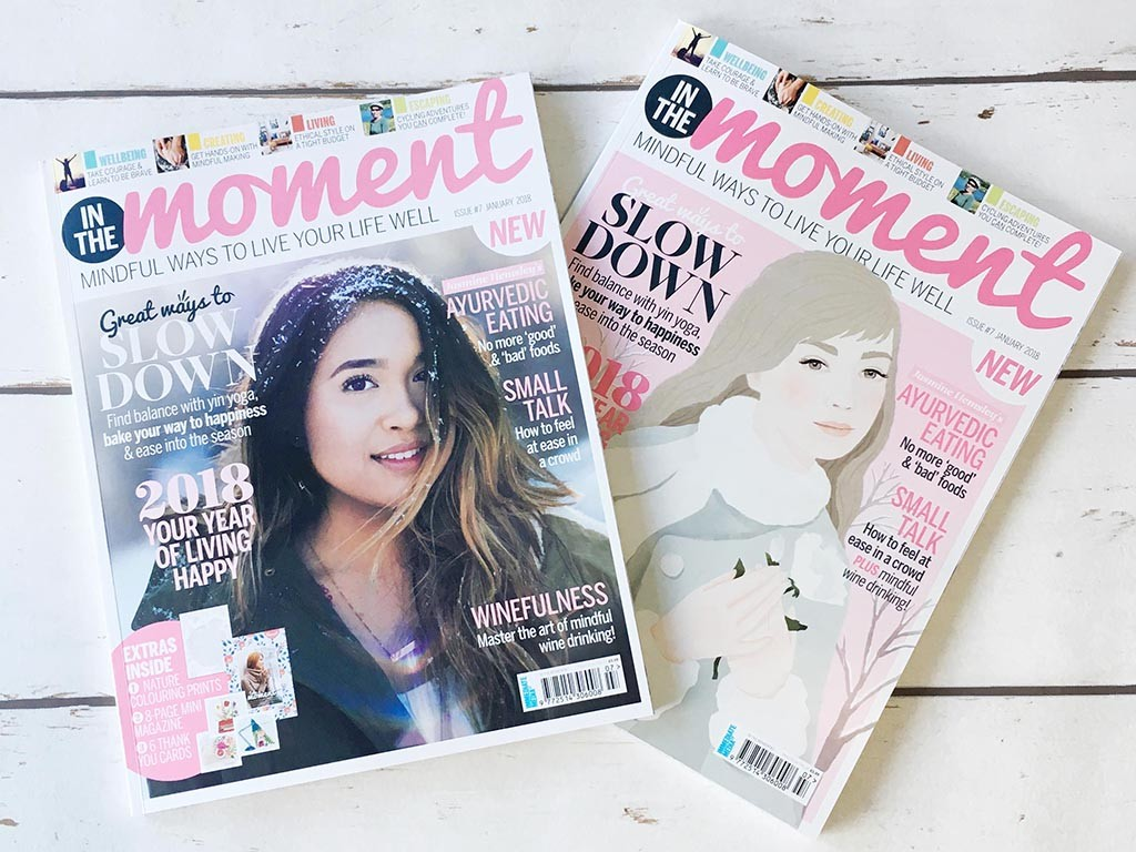 In The Moment issue 7 covers