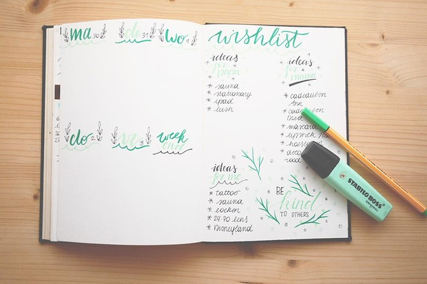 Journalling for self care