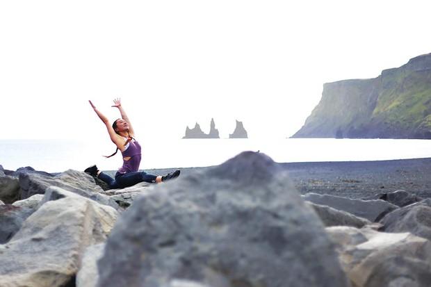 Charlene Lim in Iceland