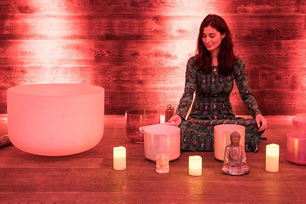 Sound Sebastien meditation with Jasmine Hemsley