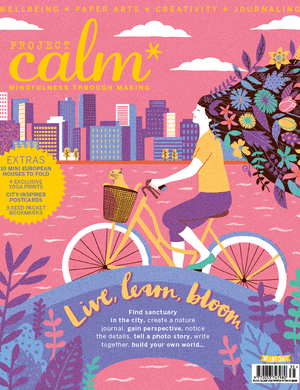 Project Calm Magazine issue 7 cover