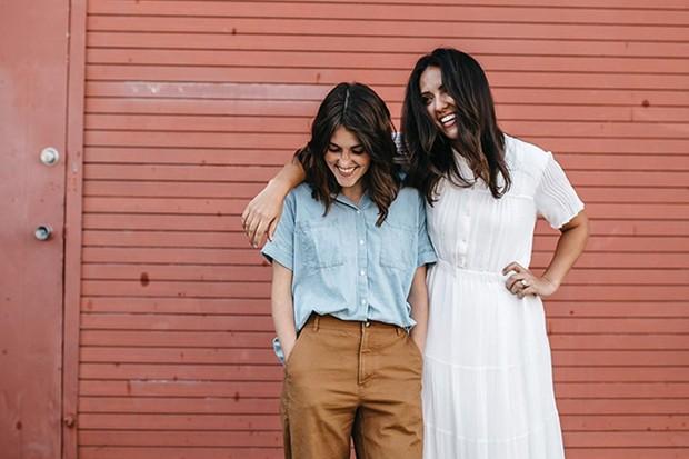 Ashley and Elyse