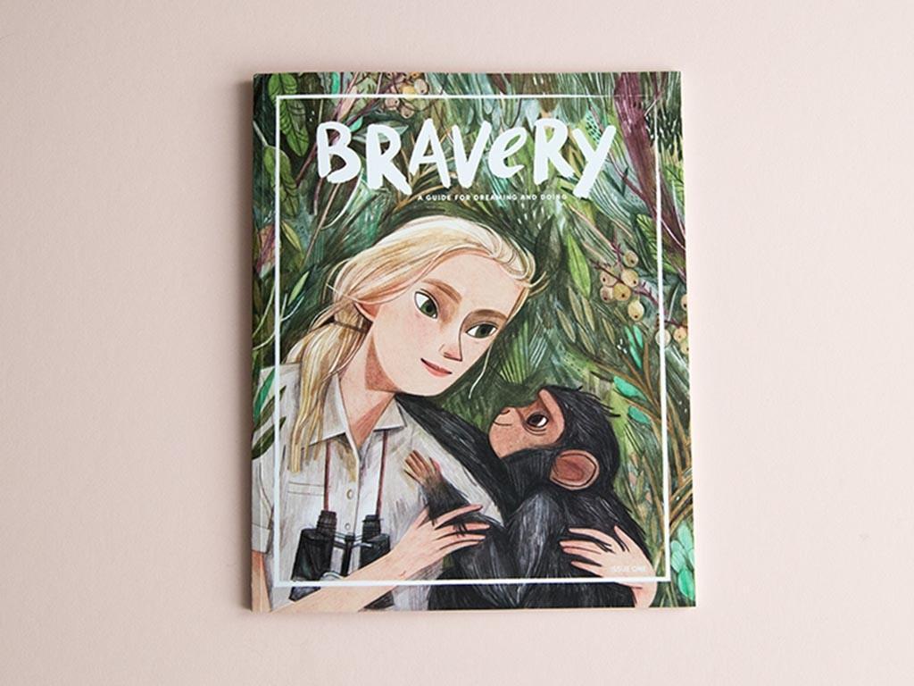 Bravery Magazine cover Jane Goodall