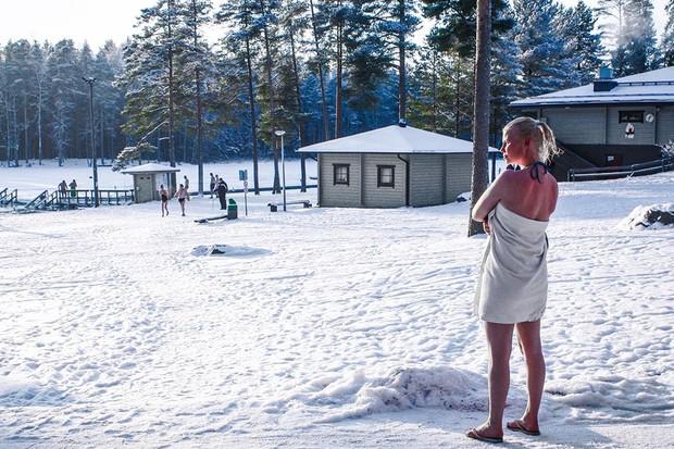 Finnish saunas