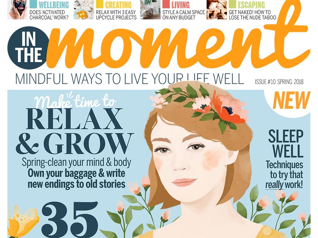 In The Moment issue 10 cover