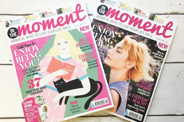 In The Moment Magazine issue 9 cover