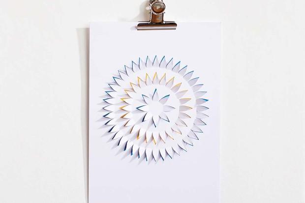 Papercut flower