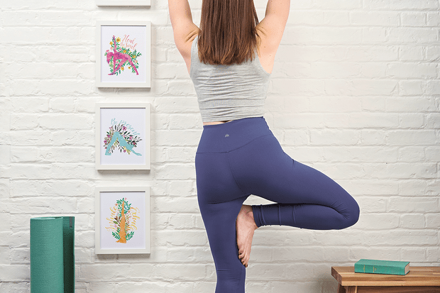Project Calm yoga posters