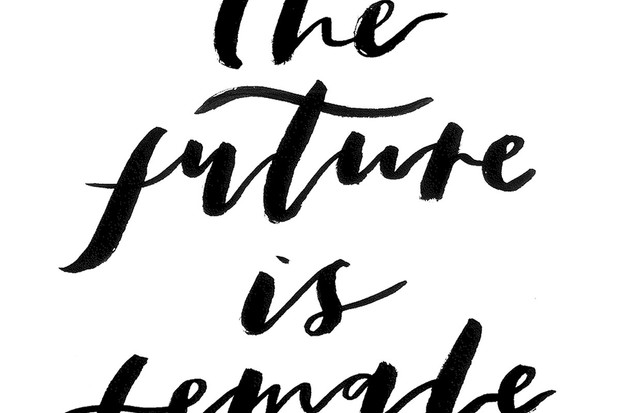 The future is female wallpaper