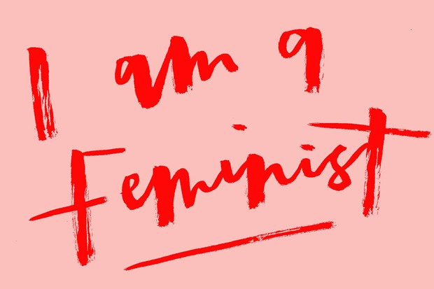 I am a feminist wallpaper