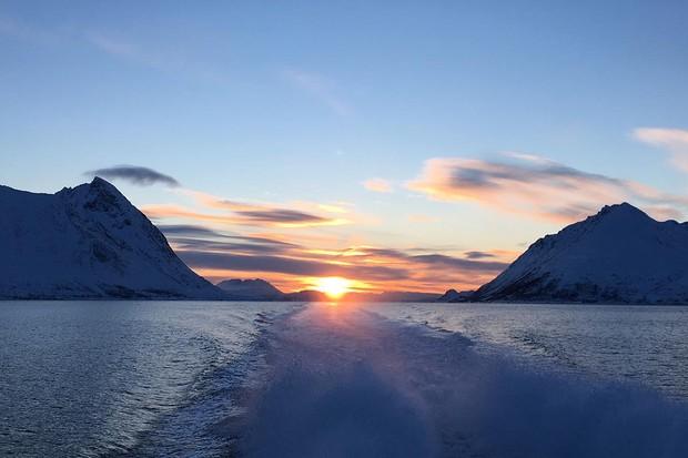 Norwegian fjords by boat
