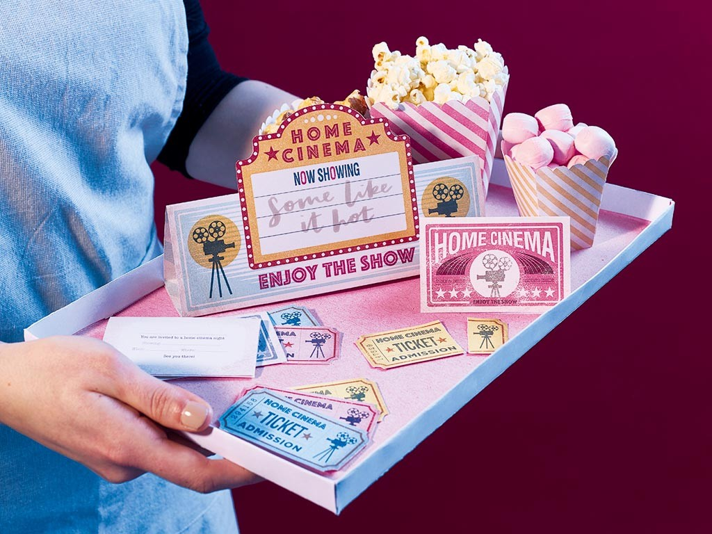 Home cinema tray