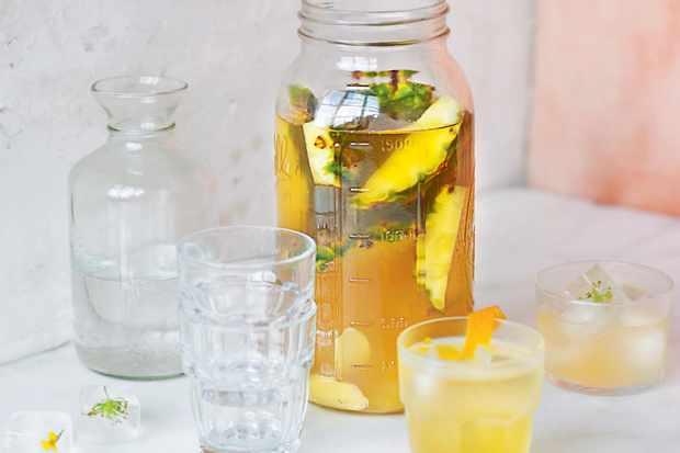 Pineapple tepache recipe