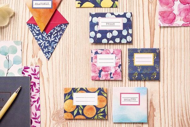 Scent envelopes
