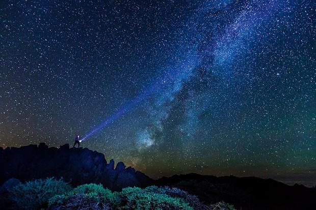 Night sky in La Palma