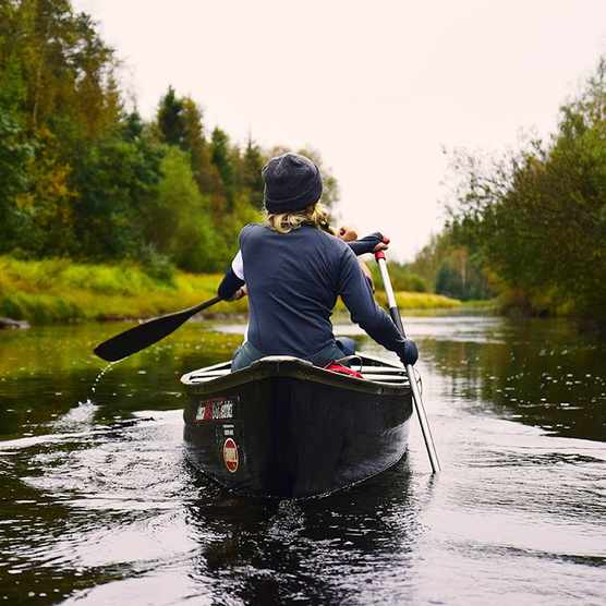 Canoeing in Sweden