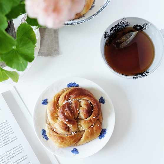 Fika with pastries