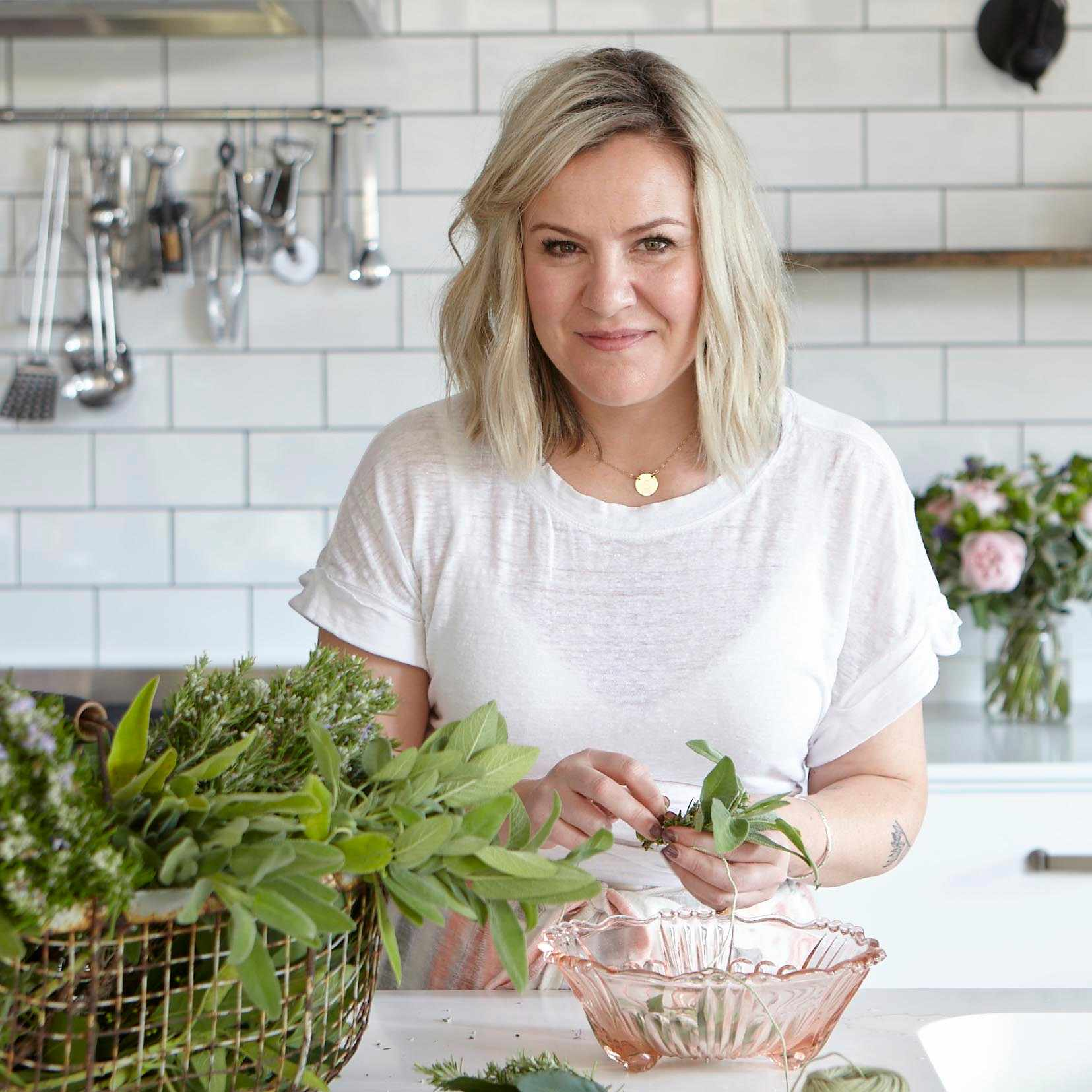 Rebecca Sullivan from The Art of Edible Flowers