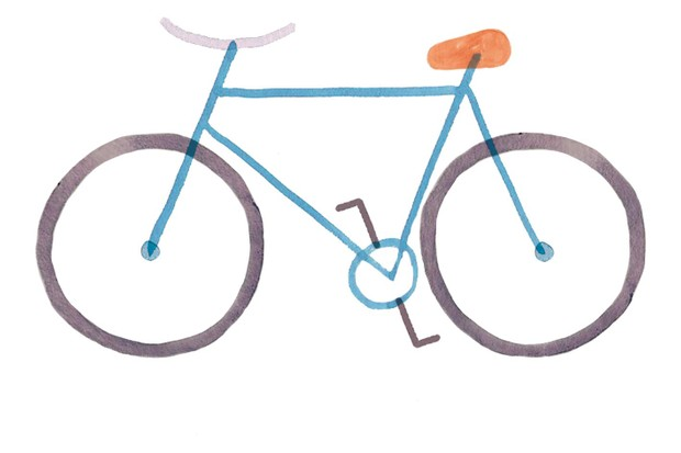 Bicycle illustration by Holly McCulloch