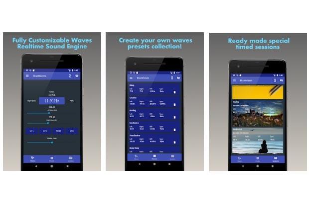 Brainwaves app