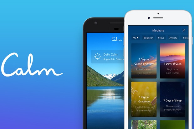 Calm sleep app