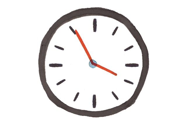Clock illustration by Holly McCulloch