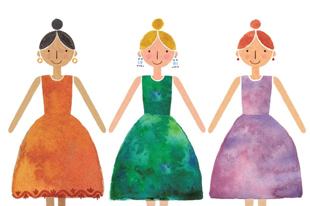 Friends illustration by Holly McCulloch