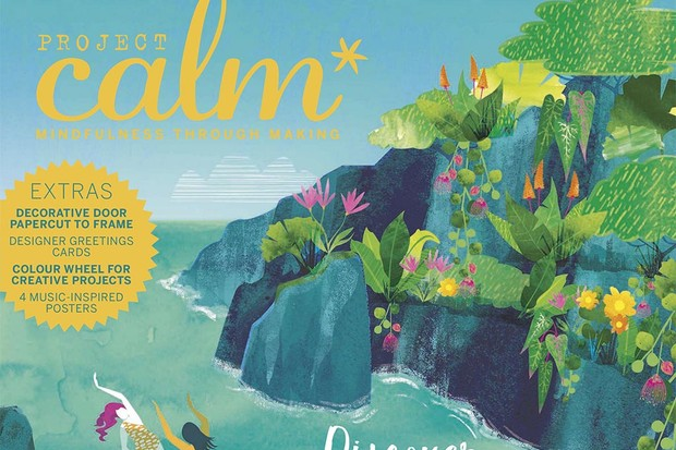 Inside Project look inside project calm issue 9 – out now in the uk - calm moment