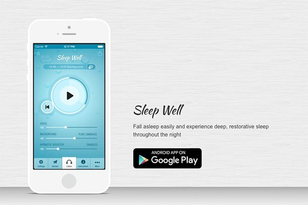 Sleep Well Hypnosis app